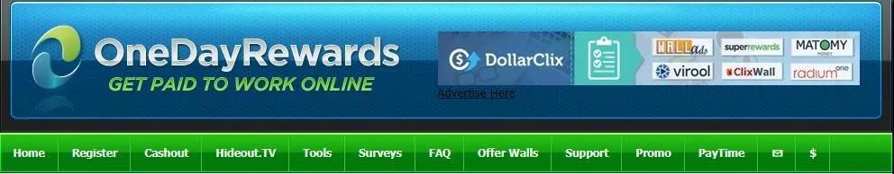 国外网赚项目:Onedayrewards做任务赚佣金,一美元就可以提现!